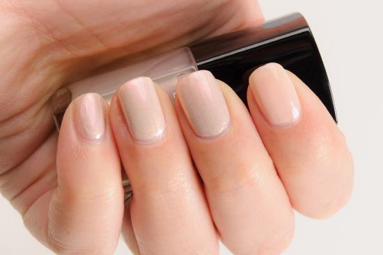 Chanel Atmosphere (629) over Secret (625) Le Vernis Nail Colour