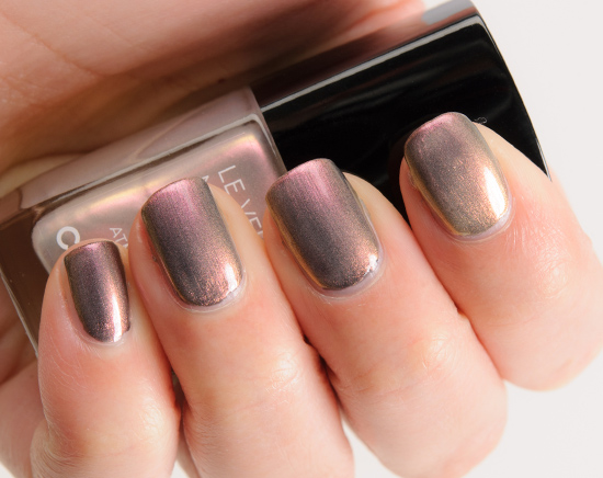 Chanel Atmosphere (629) over Orage (631) Le Vernis Nail Colour
