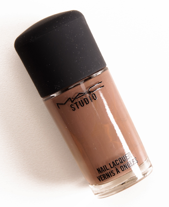 MAC Coffee Break Studio Nail Lacquer Review & Swatches
