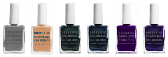Obsessive Compulsive Cosmetics Unknown Pleasures Collection for Fall 2014