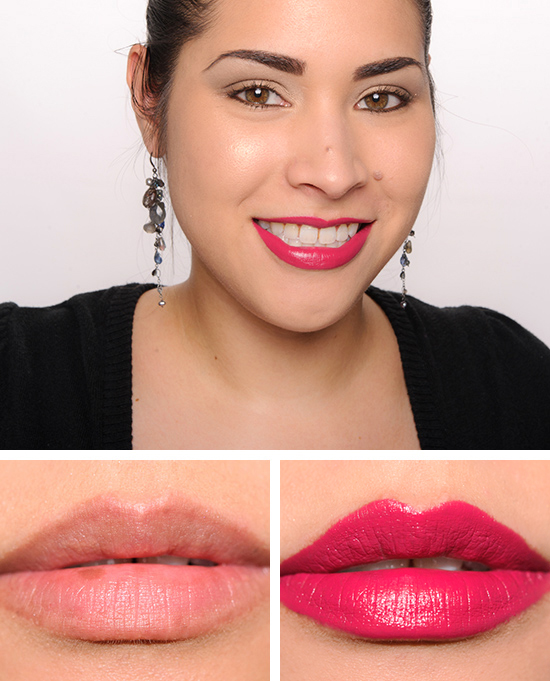 Givenchy rose plumetis framboise velours le rouge for Givenchy rouge miroir lipstick