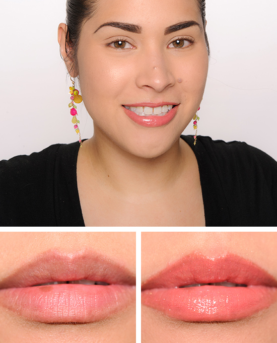 MAC Stoke the Flame Lipglass over Passion Charge Lipstick