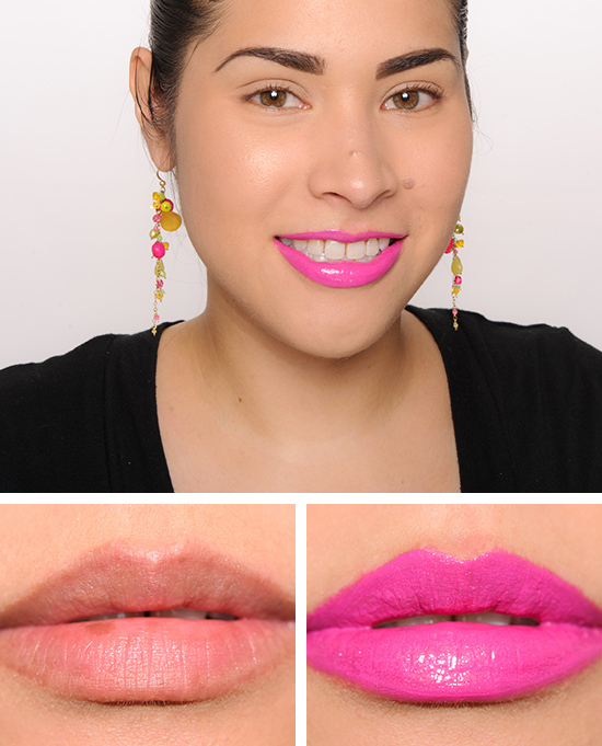 MAC Unlimited Style Lipglass over Embrace Me Lipstick