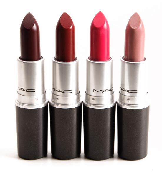 MAC A Novel Romance Lipsticks