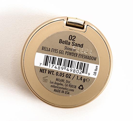 Milani Bella Sand (02) Bella Eyes Gel Powder Eyeshadow