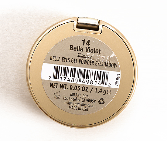 Milani Bella Violet (14) Gel Powder Eyeshadow