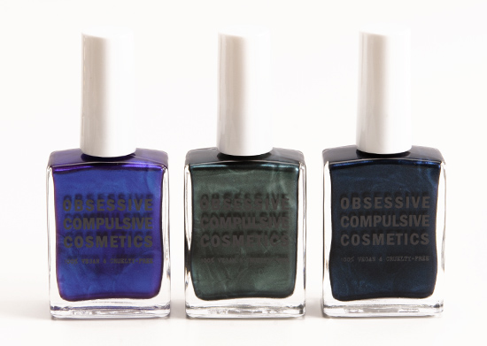 OCC Technopagan, Poison, Distortion Nail Lacquers