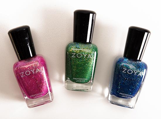 Zoya Bubbly Nail Lacquers