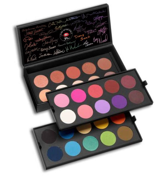Make Up For Ever 30 Years 30 Colors 30 Artists Palette