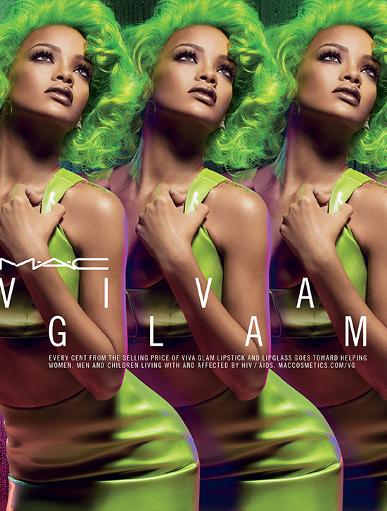 MAC x Rihanna -- Viva Glam Rihanna 2 for Fall 2014