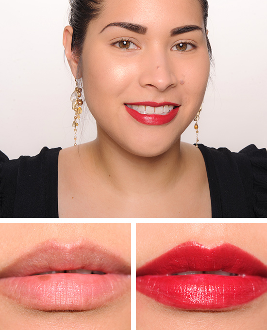 Guerlain Red Hot (328) KissKiss Lipstick