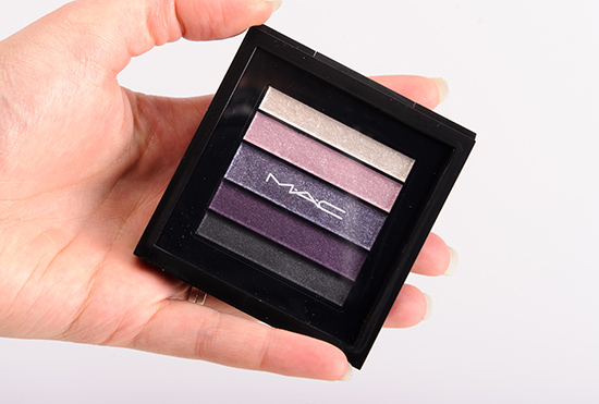 MAC Plumluxe Veluxe Pearlfusion Shadow Palette