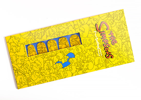 MAC Marge Simpson's Cutie-cles Nail Stickers