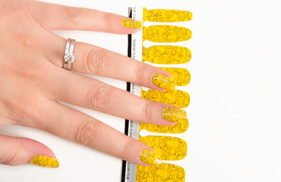MAC Marge Simpson's Cutie-cle Nail Stickers