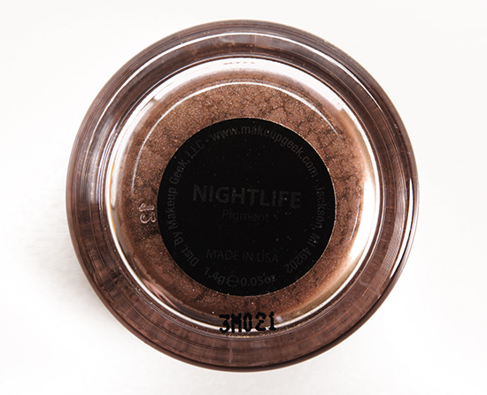 Makeup Geek Night Life Pigment