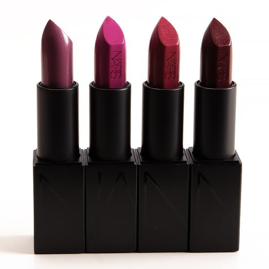 NARS Audacious Lipstick -- Dominique, Silvia, Vivien, Ingrid