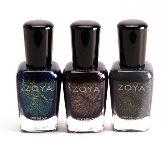 Zoya Remy, Sansa, Yuna Nail Lacquers