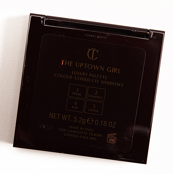 Charlotte Tilbury The Uptown Girl Eyeshadow Quad