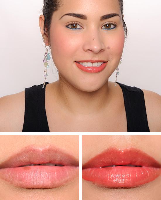 Gucci Crushed Coral Vibrant Demi-Glaze Lip lacquer