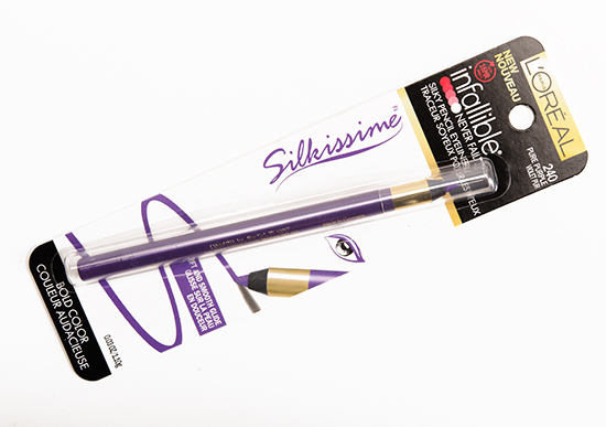 L'Oreal Pure Purple (240) Infallible Silkissime Eyeliner