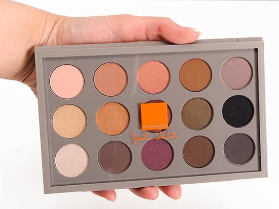 MAC x Brooke Shields Gravitas Eyeshadow Palette