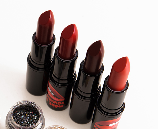 MAC x Rocky Horror Picture Show Lipsticks