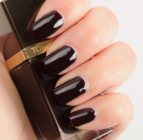 tom ford black cherry nail lacquer review photos swatches. Black Bedroom Furniture Sets. Home Design Ideas