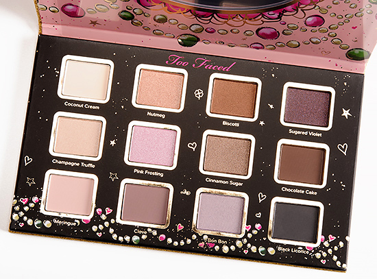 Too Faced Sugar & Spice Eyeshadow Palette