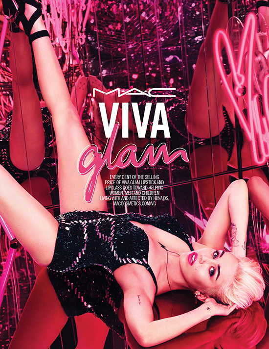 MAC Viva Glam x Miley Cyrus for 2015