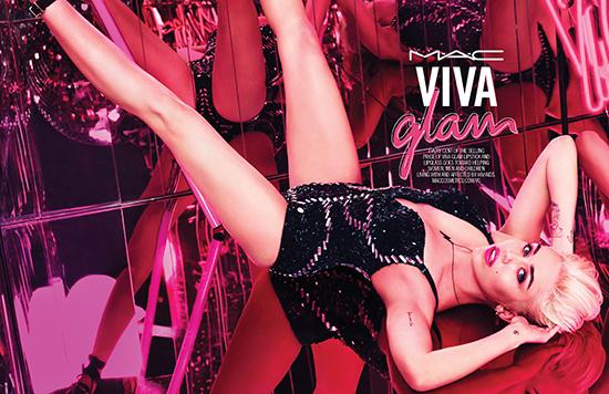 MAC Viva Glam x Miley Cyrus for 2015