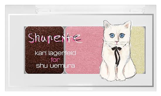 shu uemura Shupette by Karl Lagerfeld for Holiday 2014