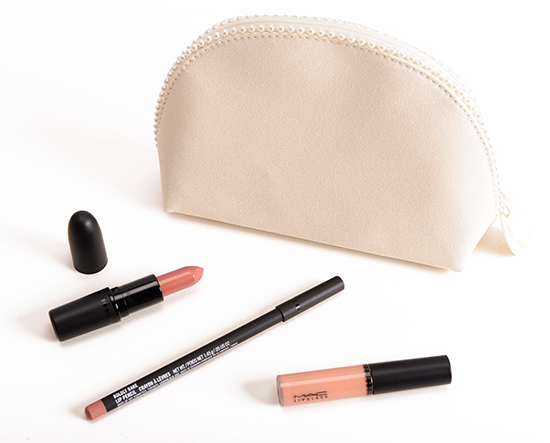 MAC Keepsakes/Nude Lip Bag