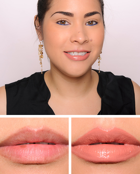 Boldly Bare Lip Pencil with Kiss the King Lipstick with Chic Supremacy Lipglass