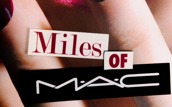 Miles of MAC by James Gager and Miles Aldridge