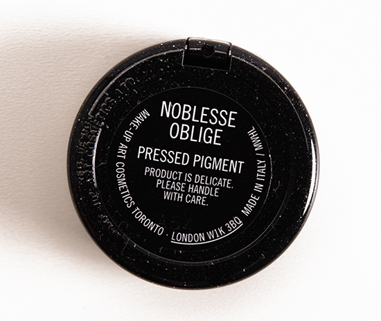 MAC Noblesse Oblige Pressed Pigment