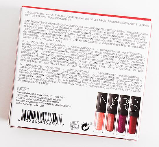 NARS Tech Fashion Lipgloss Set
