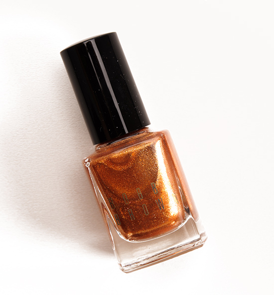 Bobbi Brown Scotch Shimmer Nail Polish