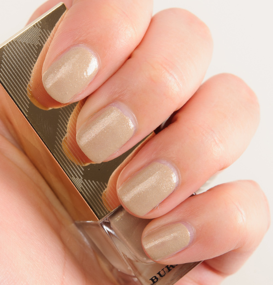 Burberry Gold No. 447 Iconic Colour Nail Polish