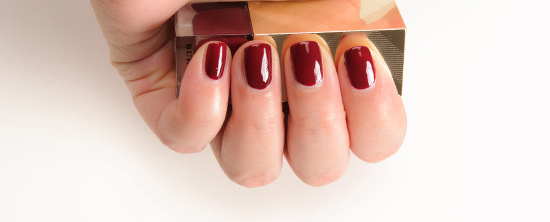 Burberry Oxblood No. 303 Iconic Colour Nail Polish