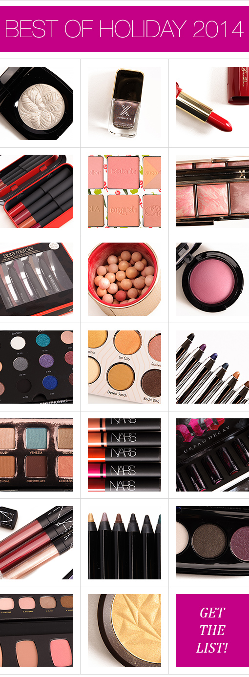 The Best of the Best: Holiday Palettes & Gifts (2014 Edition)
