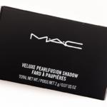 MAC Smoky Black Friday Veluxe Pearlfusion Eyeshadow Trio