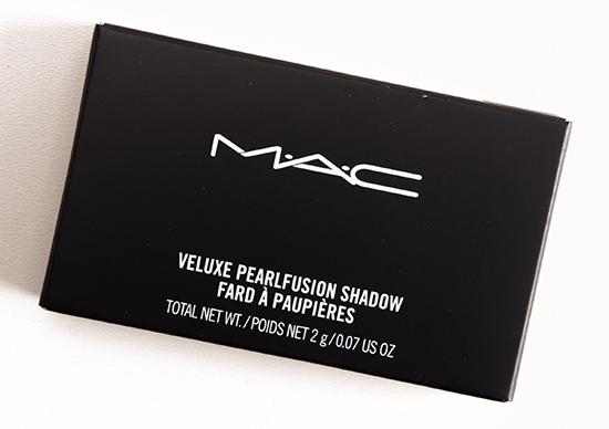 MAC Smoky Black Friday Veluxe Pearlfusion Shadow Trio