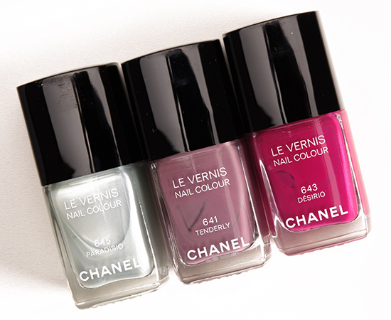 Chanel Spring 2015 Le Vernis Nail Colour