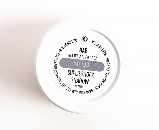 ColourPop Bae Super Shock Shadow