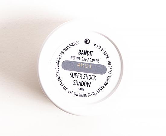 ColourPop Bandit Super Shock Shadow