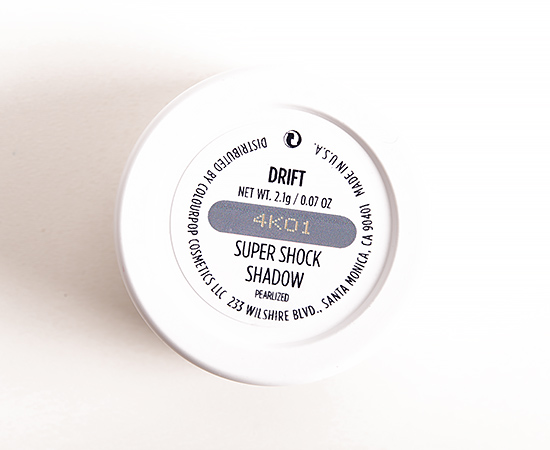 ColourPop Drift Super Shock Shadow