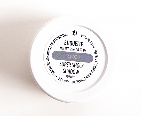 ColourPop Etiquette Super Shock Eyeshadow