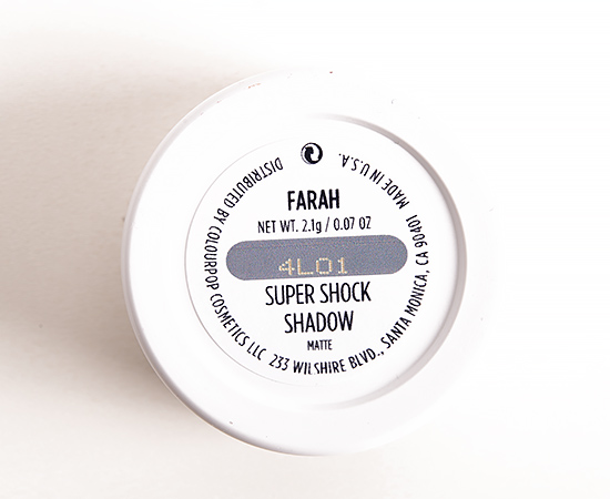 ColourPop Farah Super Shock Shadow