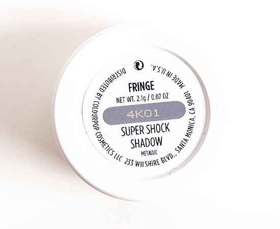 ColourPop Fringe Super Shock Eyeshadow
