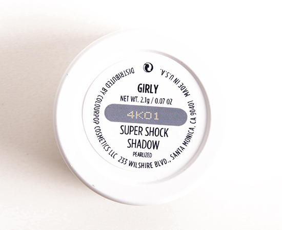 ColourPop Girly Super Shock Shadow